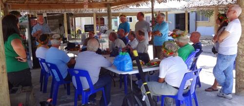 Team on Tarawa